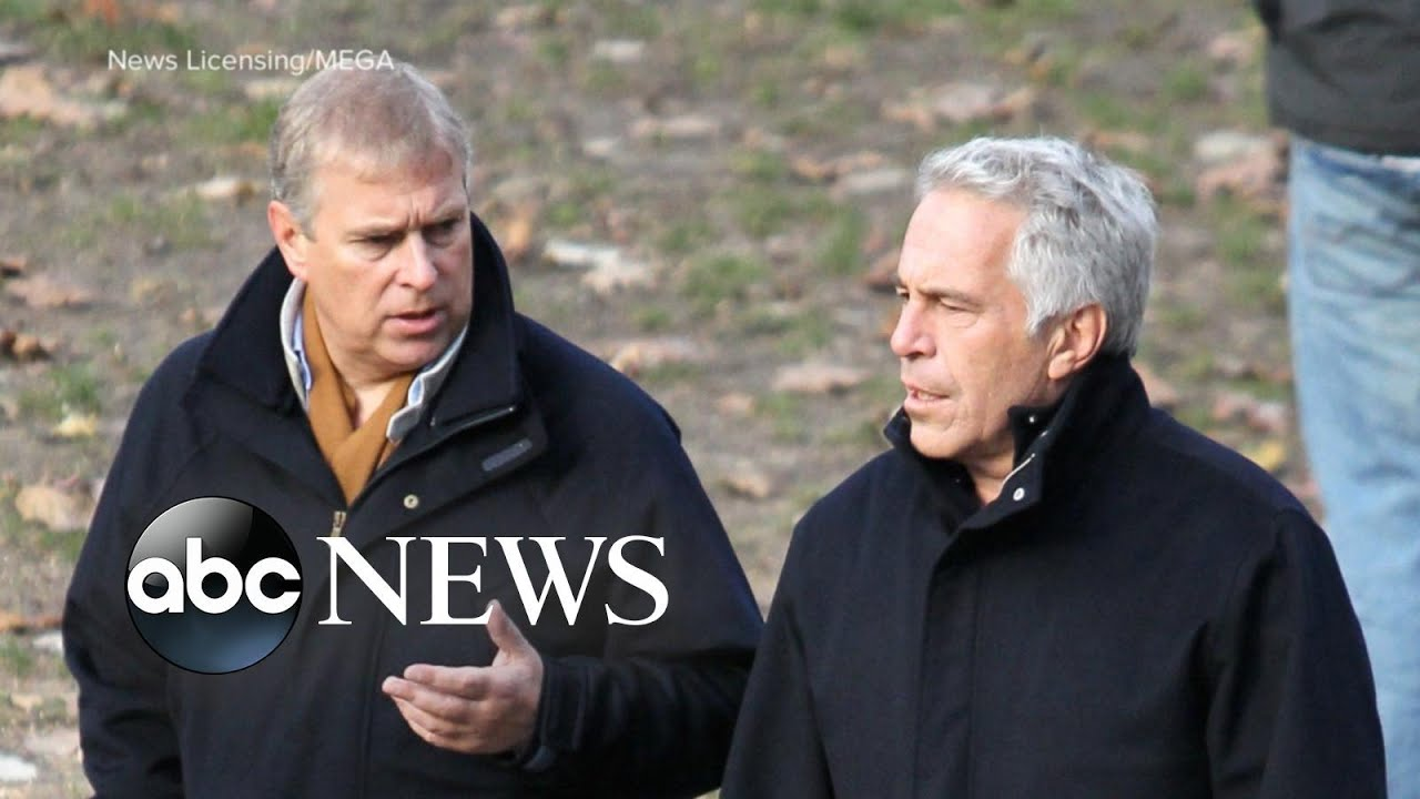Prince Andrew Issued A Statement About Jeffrey Epstein Youtube
