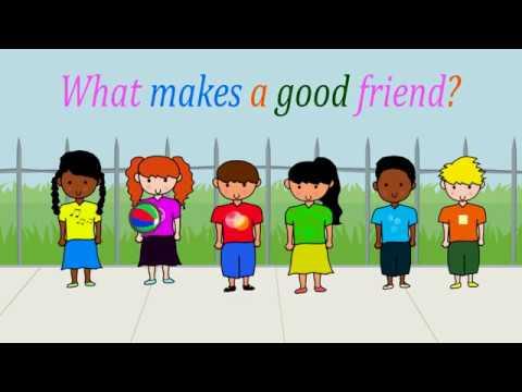 What makes a good friend Album version  YouTube