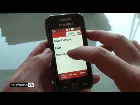 Samsung Star S5230 videoreview da Telefonino.net