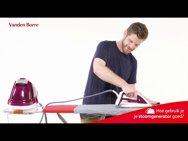 Hoe gebruik je je stoomgenerator goed?