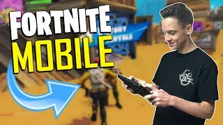 FAST MOBILE BUILDER on iOS / 930+ Wins / Fortnite Mobile + Tips & Tricks!