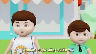 """Phim Hoạt Hình Cho Bé – Khôn Lớn Mỗi Ngày: Tập 46 """"Bé có ý thức xếp hàng"""""""