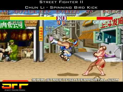 Sfp Sf2 Chun Li Spinning Bird Kick Youtube