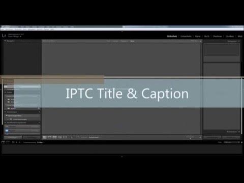 Event Gallery 3.5   IPTC Data Import