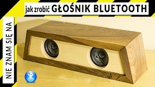 Jak zrobić głośnik bluetooth w obudowie z drewna (orzech i klon)