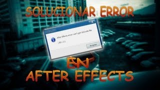 How to Fix After Effects Error Atm Parse Error