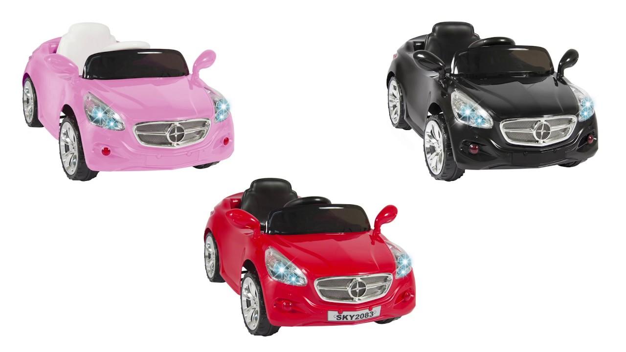 12v ride on car kids rc car remote control electric battery power w radio mp3 sky2072