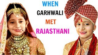 When Garhwali Met Rajasthani #Travel #Wedding #MyMissAnand