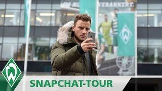 Philipp Bargfrede mit Stadionführung   Snapchattour durchs Weser-Stadion   SVW