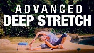 Advanced Deep Stretch Yoga Class (40 Min) - Five Parks Yoga