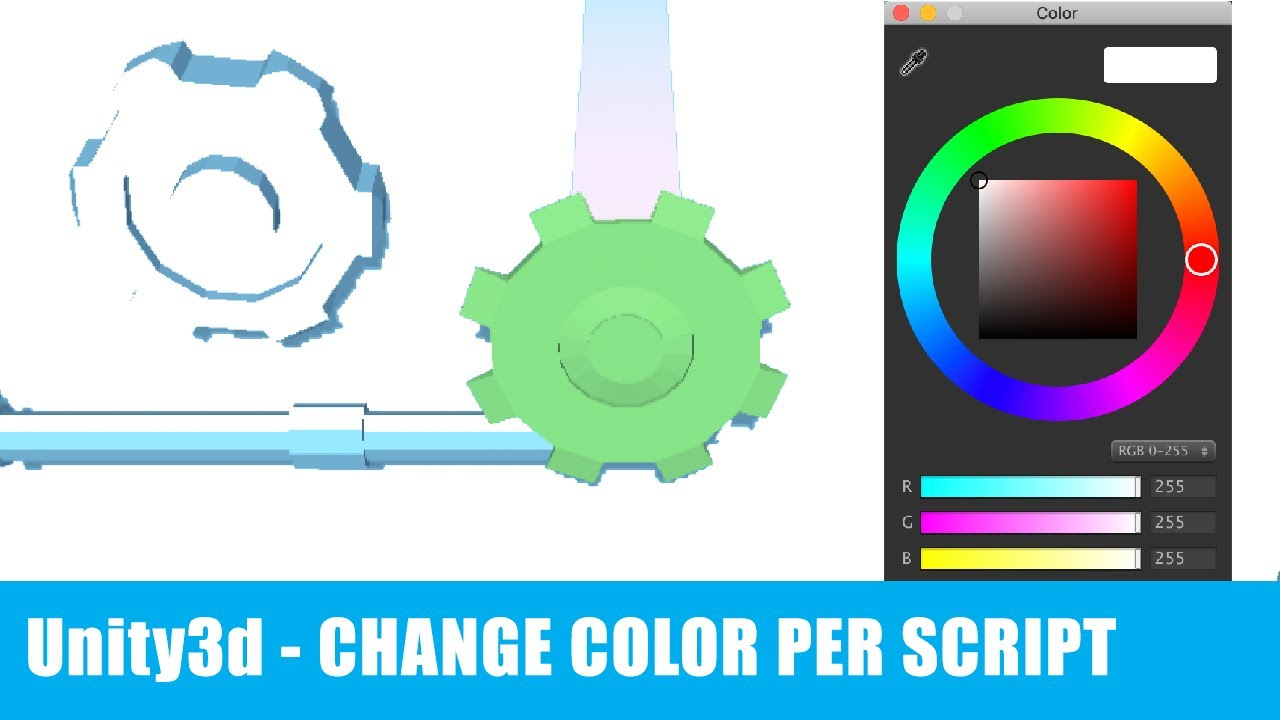Unity3d - Change per Code Material Color and Opacity