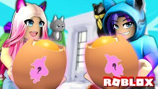 Wengie And Maxmello Play The Cracked Egg Challenge In Roblox Adopt Me! You Won't Believe What We Got