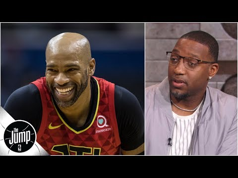 Tracy McGrady admits to Rachel that Vince Carter should've done 2019 NBA dunk contest | The Jump: OT