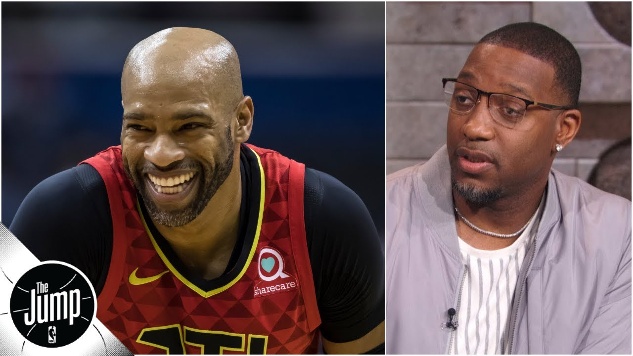 Tracy McGrady admits Vince Carter should've been in 2019 ...
