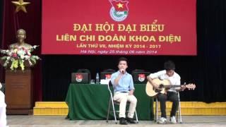 HaUI Club EAC | Màu Hoa Đỏ - singer : Đức Thiện & guitarist : Quý Duy