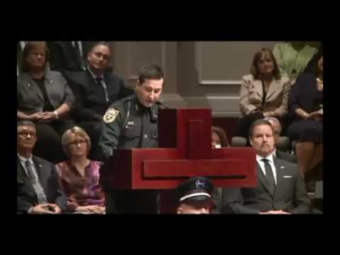 Inspirational excerpt from NCSO Deputy Eric Oliver's service