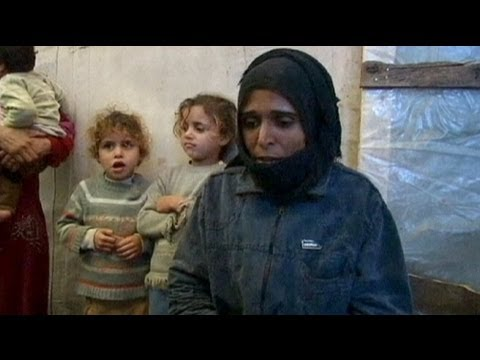 Syrian refugees can't escape cold