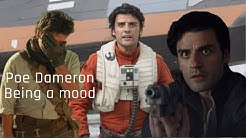Poe Dameron being a mood the whole star wars trilogy