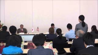 8月4日(火)マレーシア元首相マハティール・ビン・モハマド閣下と学生の対話集会~対話④~
