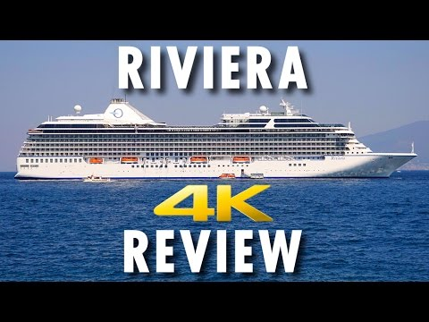 Riviera Tour & Review ~ Oceania Cruises ~ Cruise Ship Tour & Review [4K Ultra HD]