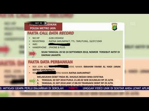 Hasil Penyelidikan Polda Jabar Terkait Penganiayaan Ratna Sarumpaet - NET10