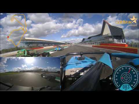 Caterham 310R 2018   Silverstone Race 2 Highlights   David Bevan