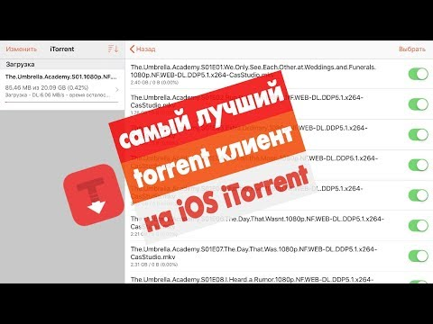 Торрент клиент на IOS. Установка ITorrent без джейлбрейка.