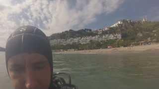 Scuba Scuba at Playa de Maro, Nerja, Spain