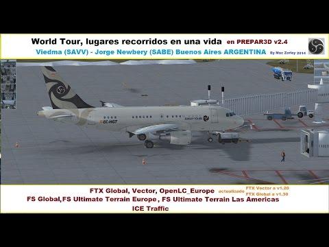 WT6 Viedma SAVV - Jorge Newbery SABE (Argentina) en prepar3D v2.4