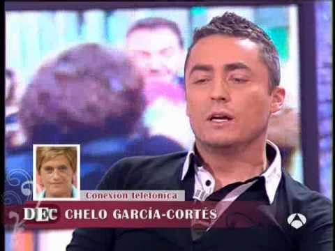 DEC -Chelo sorprendida con Anthony