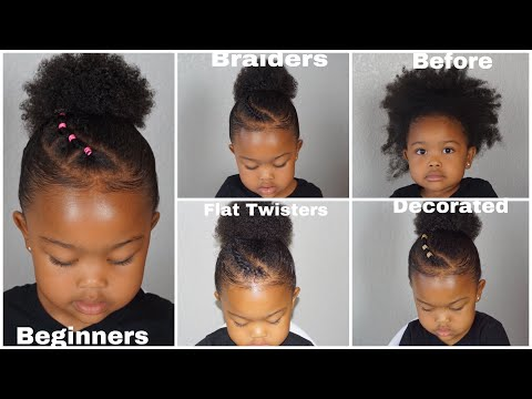 Quick Easy Toddler Natural Hairstyles Beginner Friendly To