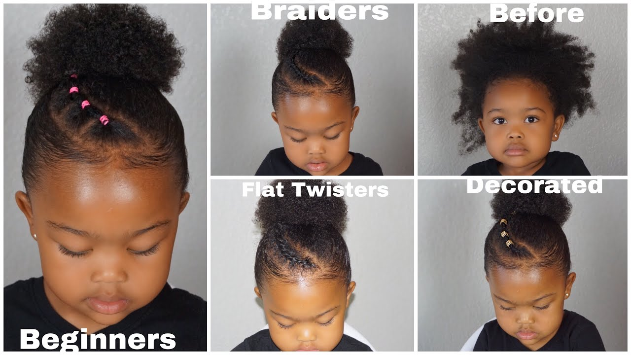 Quick Easy Toddler Natural Hairstyles Beginner Friendly To Advanced Youtube