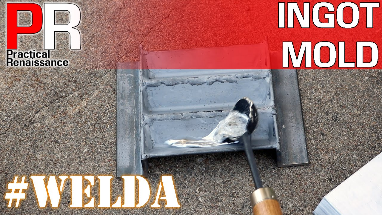 how to make lead ingot molds