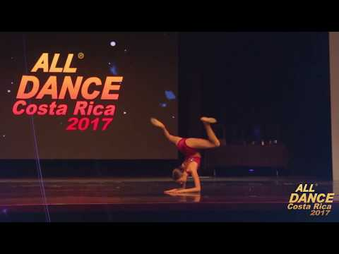 ALL DANCE COSTA RICA 2017 - CODIGO 39A