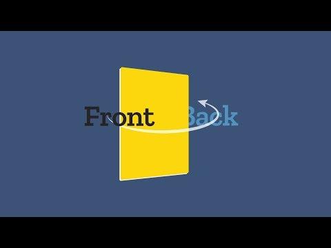 CSS Flip Card Effect