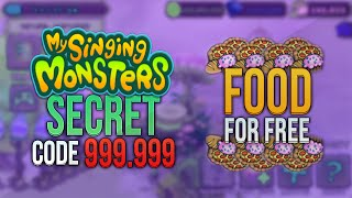 Baixar - My Singing Monsters New Secret Code 999 999 Food With Proof No Download Grátis