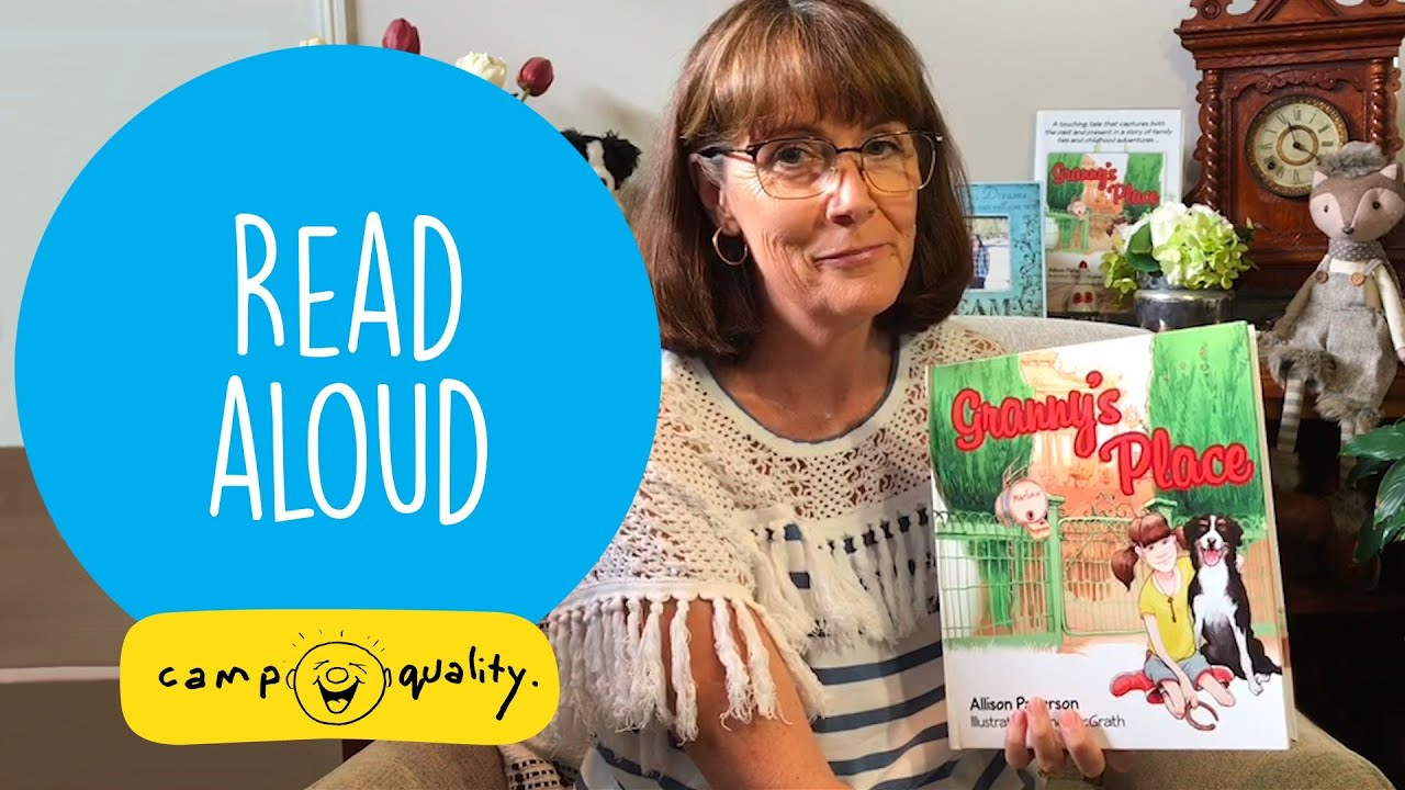 'Granny's Place' - Kids' Book Read Aloud With Allison Paterson