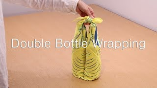 Wine Bottle Wrapping/Double/How to use/MUSUBI