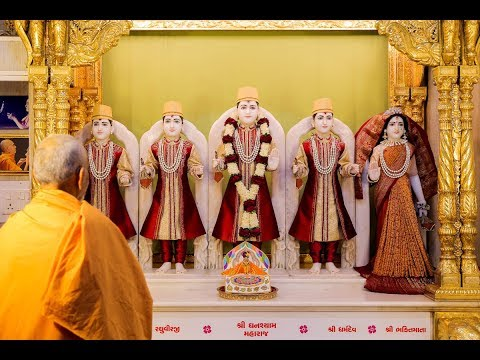 Guruhari Darshan 15 Jun 2018, Sarangpur, India