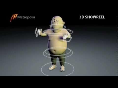 Metropolia 3D Showreel 2011
