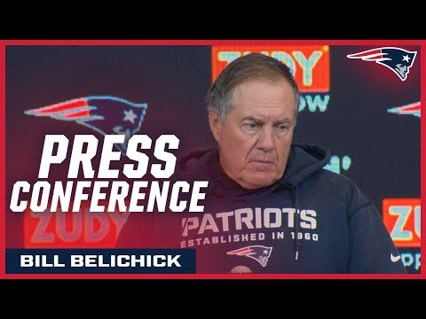 """Bill Belichick on Stephon Gilmore: """"He does such a great job playing the ball"""""""