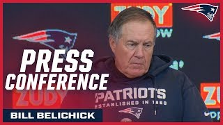 """Bill Belichick on Stephon Gilmore: """"He does such a great job playing the ball"""" Video"""