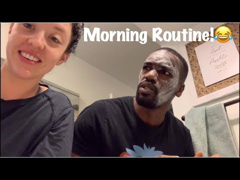 OUR MORNING ROUTINE | Funny!
