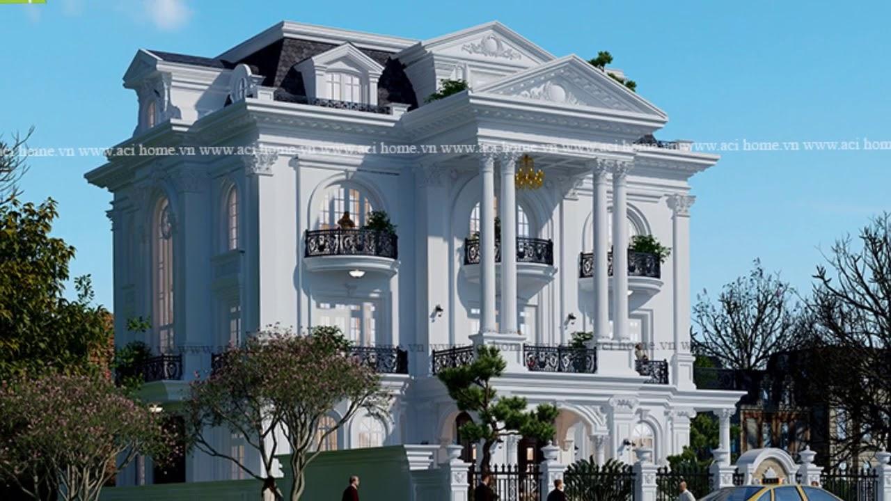 Cải tạo biệt thự kiểu Pháp 3 tầng trong khu đô thị Mễ Trì(Hà Nội) – Vinhomes Green Bay