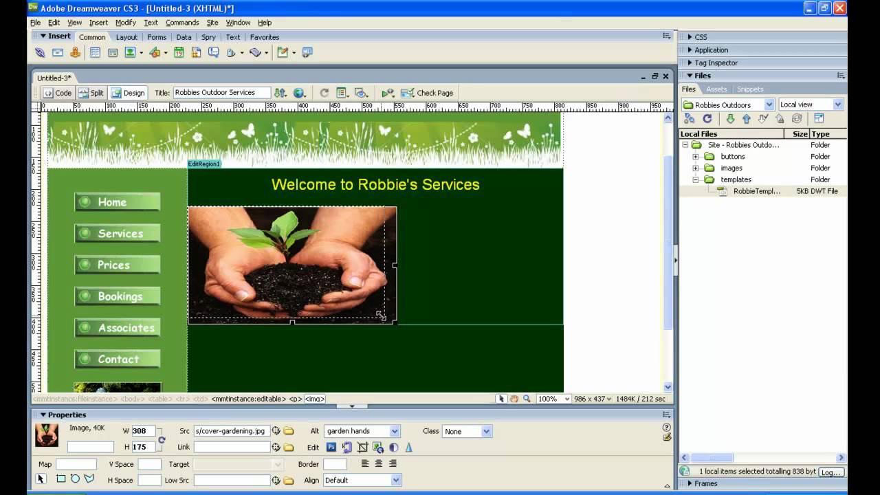 Wunderbar Dreamweaver Update Vorlage Bilder - Beispiel ...