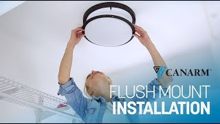 How to Install a Flush Mount Light | Canarm