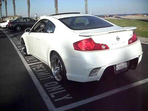 Skyline 350gt Exhaust Youtube