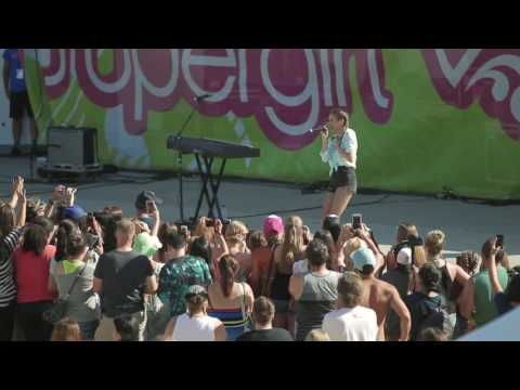 Daya&39;s  Performance at Supergirl Pro - Oceanside CA