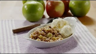 Slow Cooker Recipes - How To Make Slow Cooker Apple Crisp