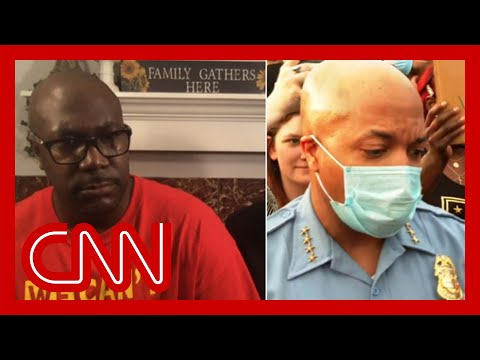 Floyd's family asks police chief question on live TV